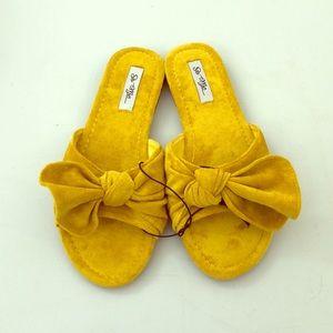 Mustard sandals